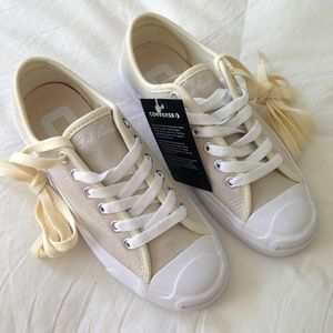 Converse Jack Purcell Suede Sneakers Size 5